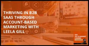 B2B 4 | Account Based Marketing