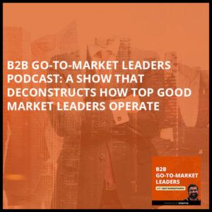 B2B 1   B2B Go-To-Market Leaders
