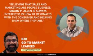 B2B 18 Shaun Allen   Sales Operations